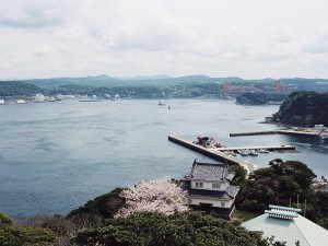 平戸城から見た平戸瀬戸 - 平戸市