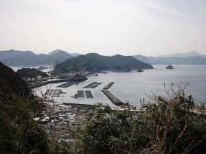 保戸島山頂からの眺め - 津久見市