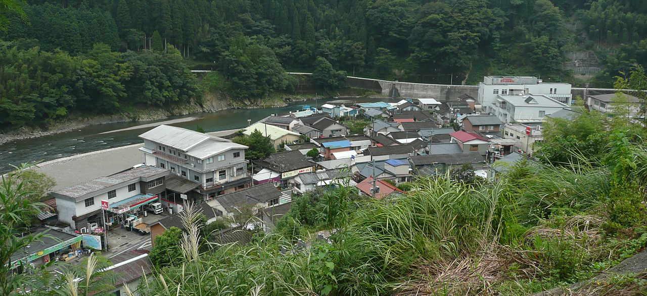 西米良村中心部 - 西米良村