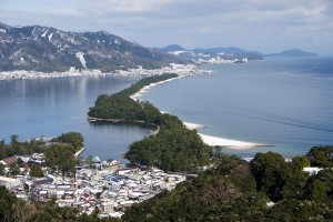 日本三景の1つ、天橋立 - 京都府