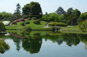 後楽園と岡山城 - 岡山県