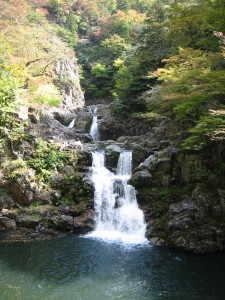 三段峡の三段滝 - 安芸太田町