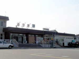 追分駅 - 安平町