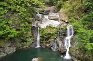 大轟の滝 - 那賀町