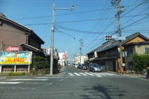 関ヶ原町中心部