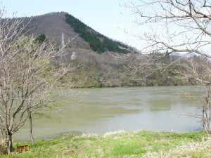 阿賀川 - 西会津町