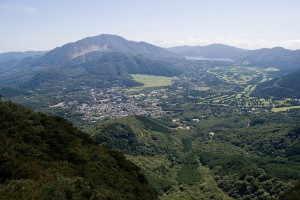 仙石原と神山 - 箱根町