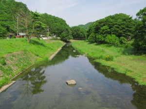 槻川 - 東秩父村