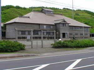 重要文化財「旧花田家番屋」 - 小平町