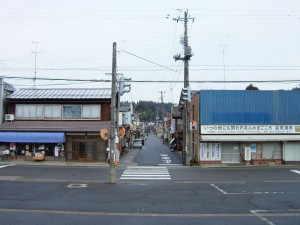 出雲崎駅前 - 出雲崎町