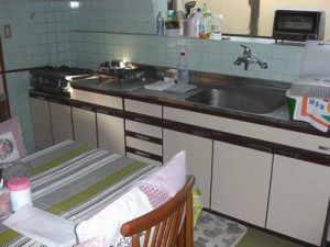 キッチンも近代的