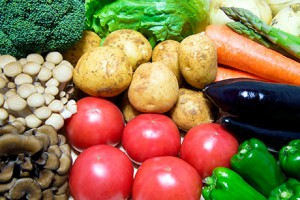 新鮮な野菜が安いのです