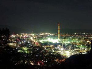 延岡市の夜景 - 延岡市