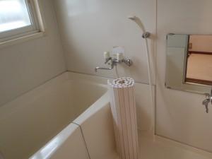 バスルームはシャワー付き