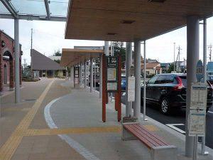 成東駅前バスターミナル - 山武市