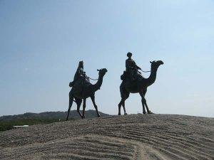 御宿海岸・月の沙漠記念像 - 御宿町