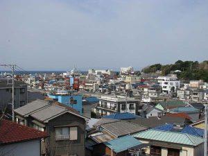 三崎の街並み - 三浦市